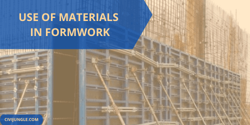 Use of Materials in Formwork