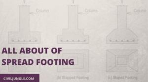 All About of Spread Footing
