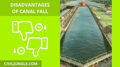 Disadvantages of Canal Fall_