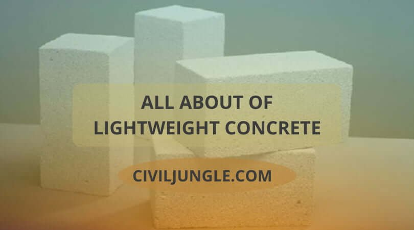 all about of Lightweight Concret