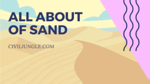 ALL about of sand