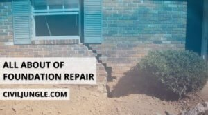 All about of Foundation Repair