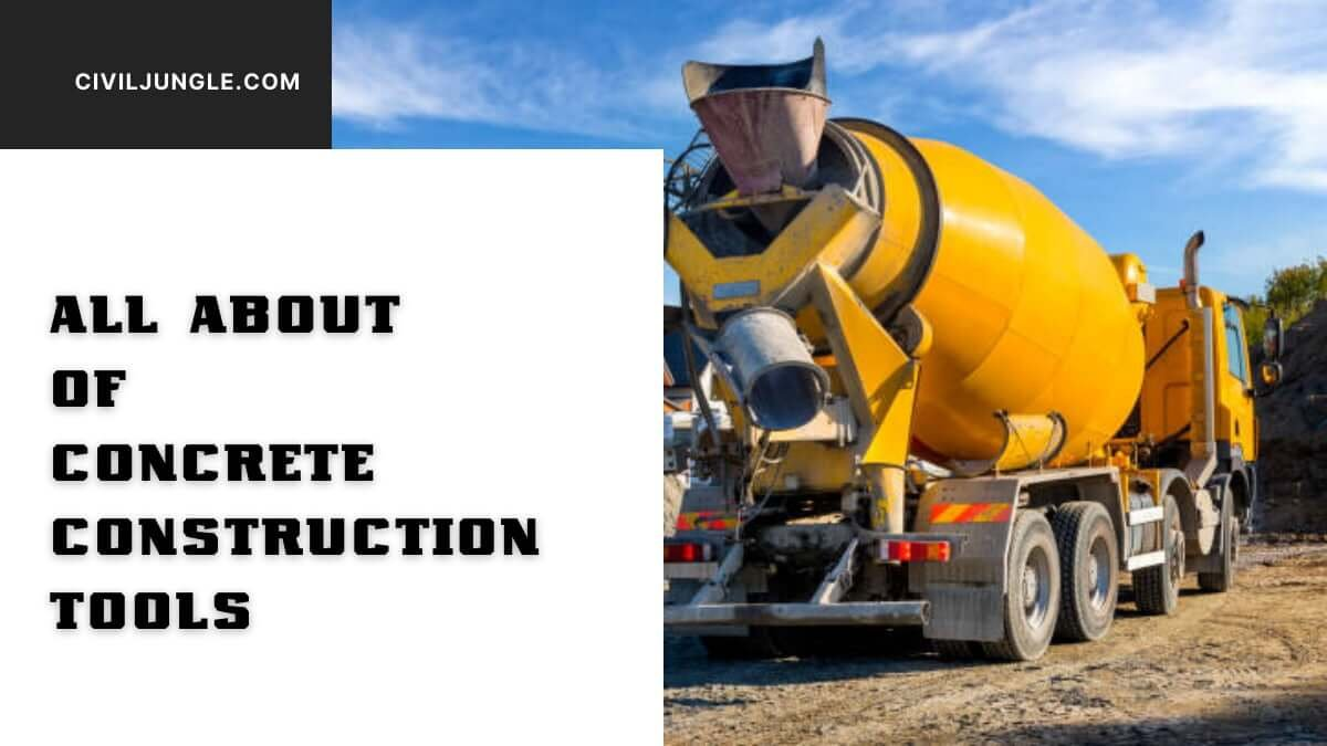All About of Concrete Construction Tools (1)