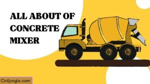 All About of Concrete Mixer