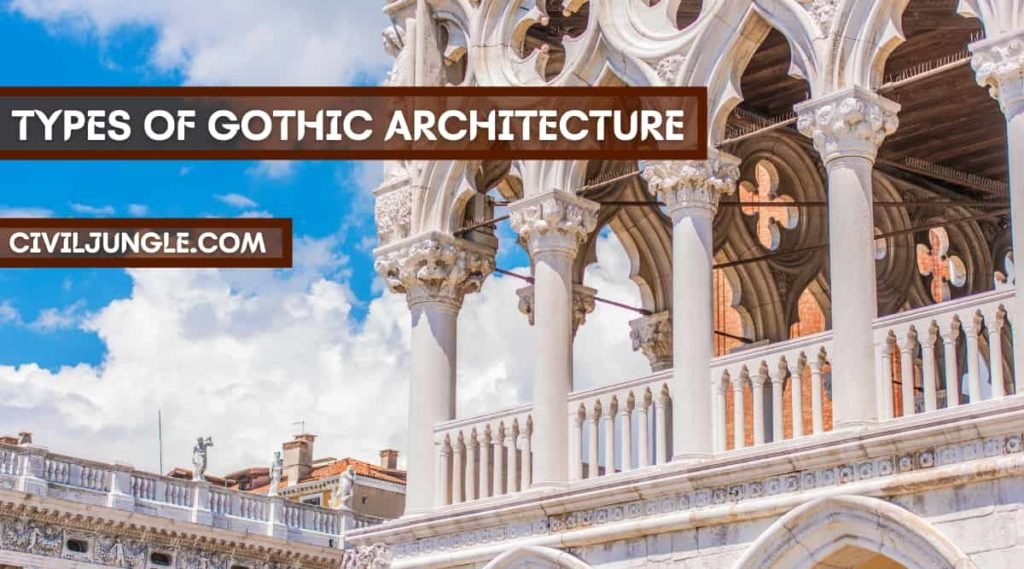 Types of Gothic Architecture